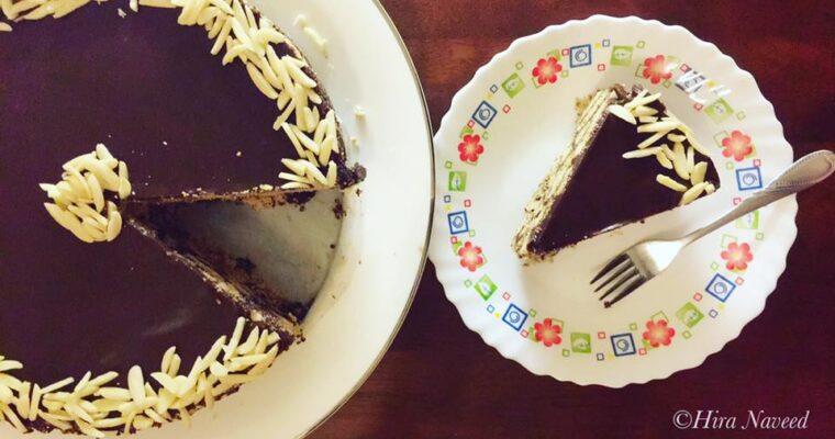No-Bake Chocolate Cake [Home Cooking Adventure]
