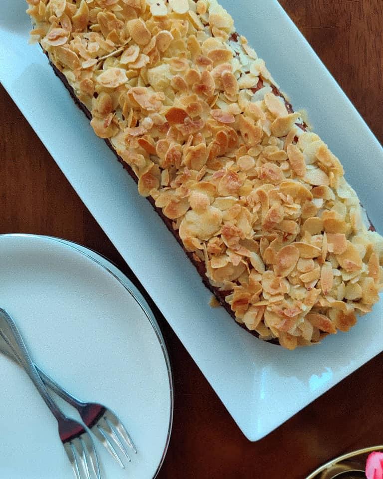 bakery style almond cake