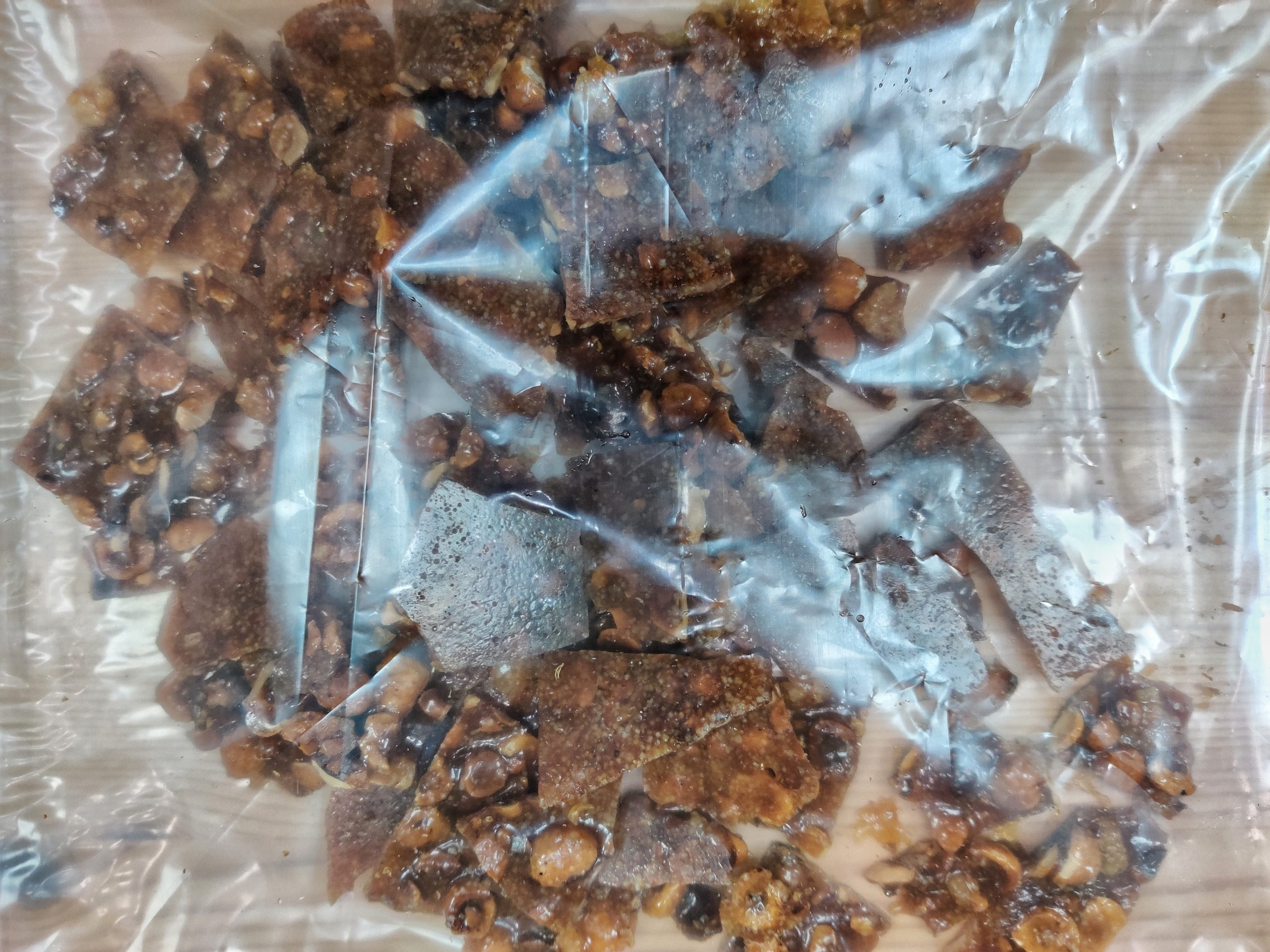 hazelnut caramel crunch