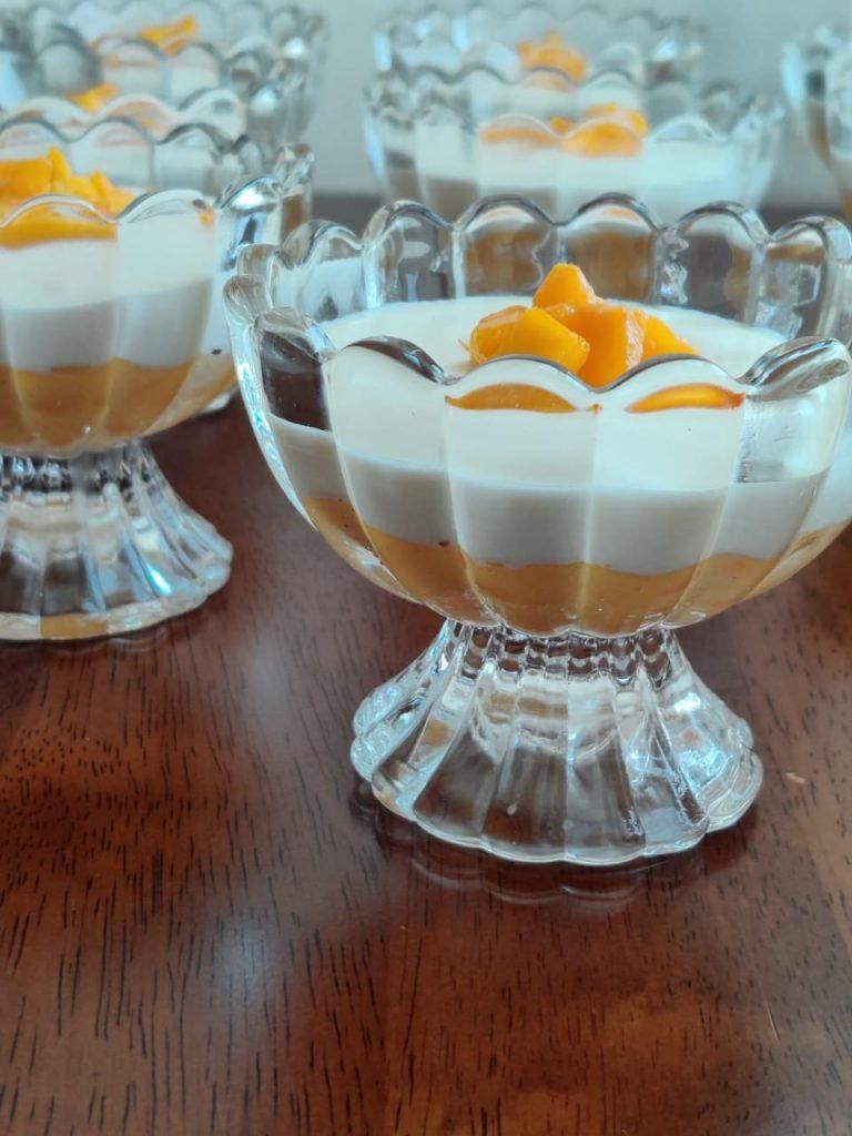 mango tapioca dessert
